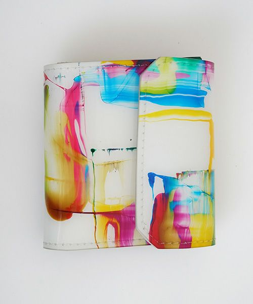 macromauro マクロマウロ cylinder bag paint small PVC[black]