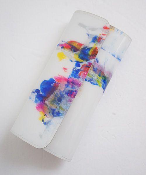 macromauro マクロマウロ paint wallet long