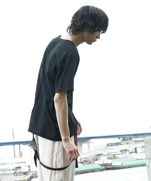 suzuki takayuki スズキタカユキ t-shirt[T002-02/black]