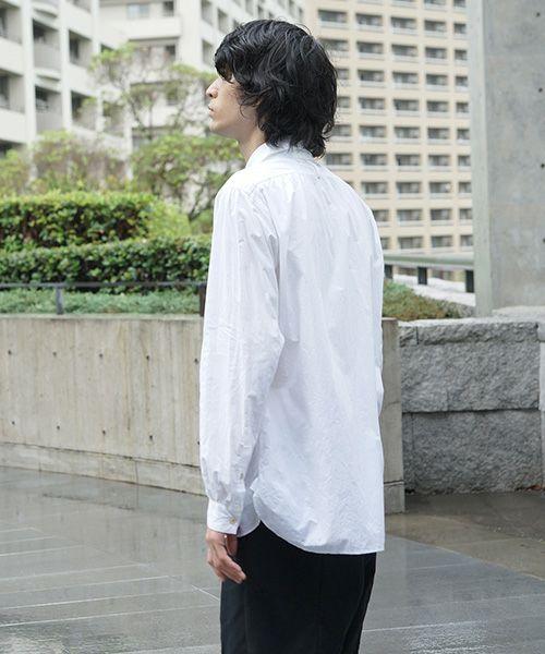suzuki takayuki スズキタカユキ worker's shirt[S203-08/nude]