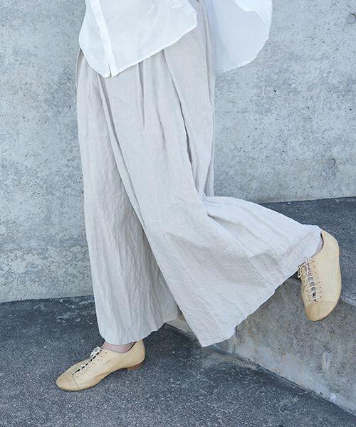 suzuki takayuki スズキタカユキ wrapped pants i[S202-15/nude]