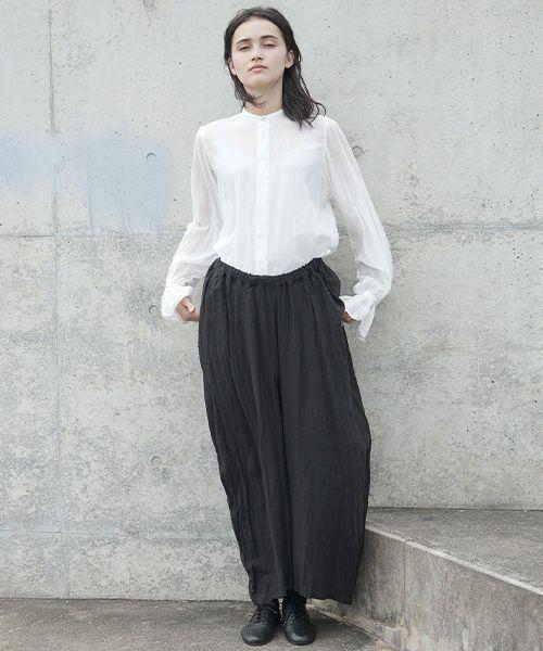 suzuki takayuki スズキタカユキ dhoti[S202-19/black]