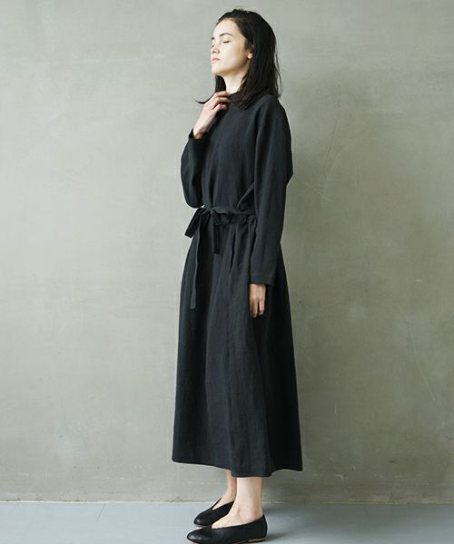 Mochi モチ petit hight neck dress [ms02-op-01/black]