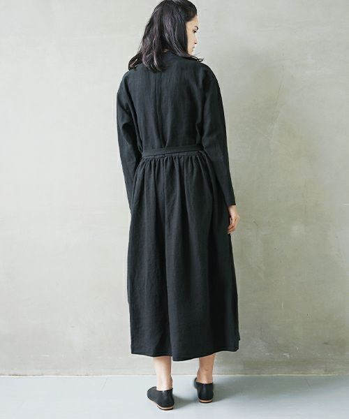 Mochi モチ petit hight neck dress [ms02-op-01/black]