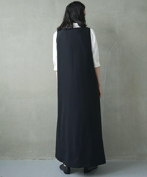 Mochi モチ v-neck dress [ms02-op-03]