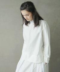 Mochi モチ petit high necked shirt [ms02-sh-01/white]