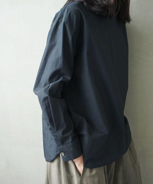 Mochi モチ petit high necked shirt [ms02-sh-01/black]