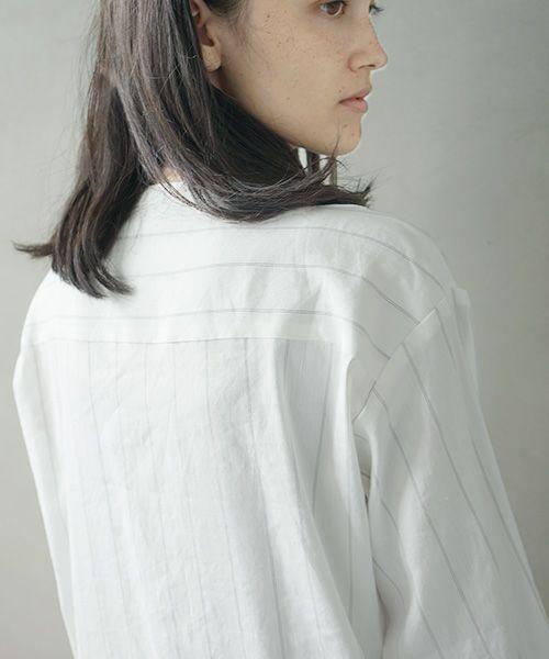Mochi モチ stripe long shirt [ms02-sh-03]