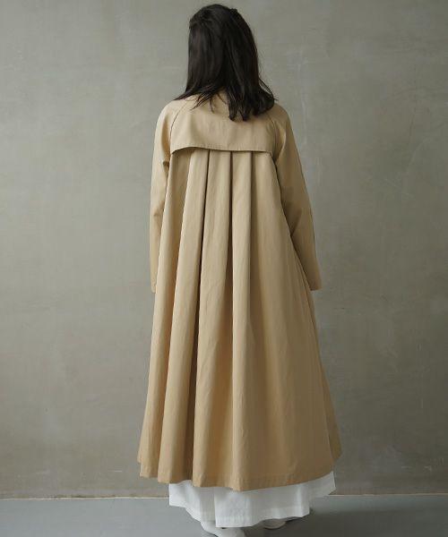 Mochi モチ trench coat [ms02-co-02/beige]