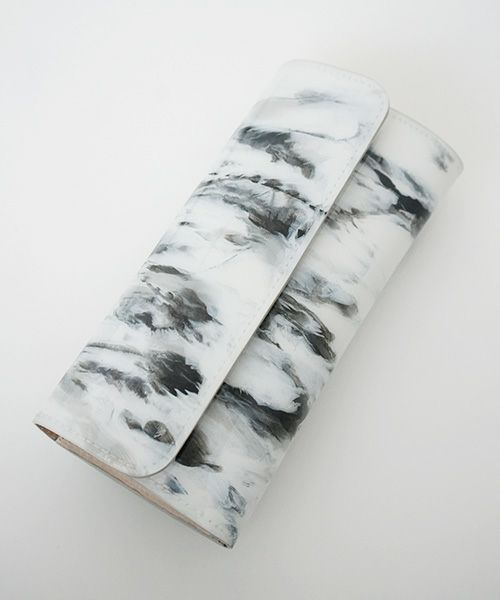 macromauro マクロマウロ paint wallet long mono