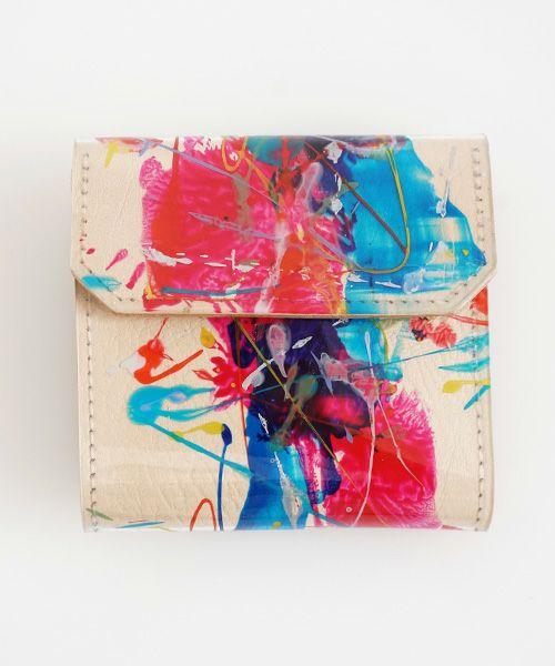 macromauro マクロマウロ NUME paint wallet P