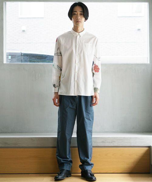 ohta オオタ imo white shirts[st-35W]