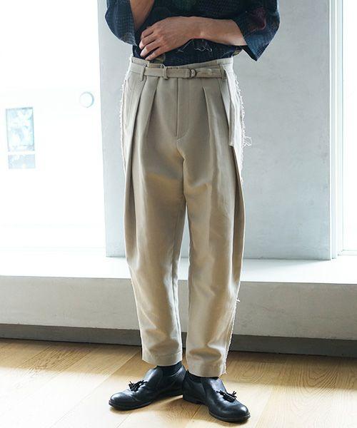 ohta オオタ green gray pants[pt-18G]