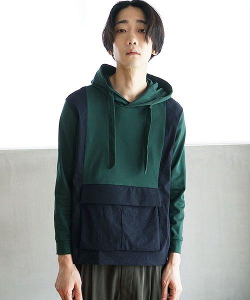 ohta オオタ green gray parka[cs-30G]