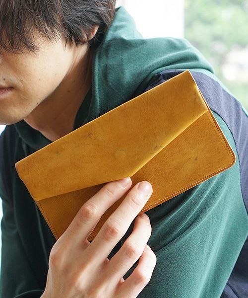 ohta オオタ yellow long letter[ac-12Y8]