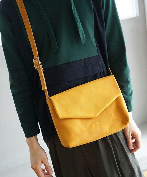 ohta オオタ yellow letter bag[ac-20Y8]