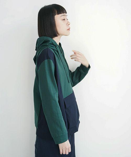 ohta オオタ green navy parka[cs-30G]