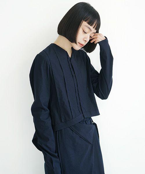 ohta オオタ navy cardigan woman[st-34N]