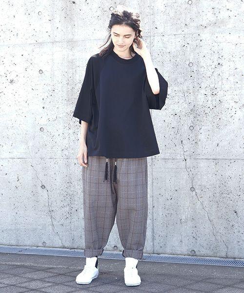 Edwina Hoerl  エドウィナホール pants[03/EH40P-05/plaid]