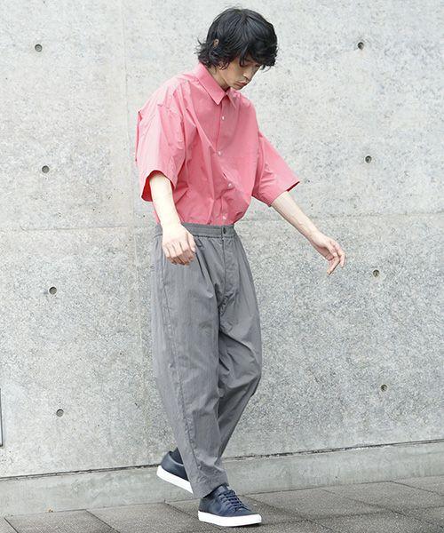STUDIONICHOLSON スタジオニコルソン SMART EASY PANT[SNM-076/LEAD]
