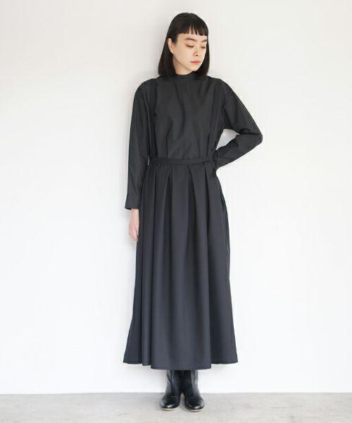 Mochi モチ suspender skirt [black]