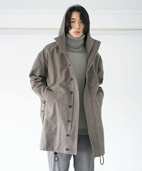 suzuki takayuki スズキタカユキ anorak[A212-11/grey]