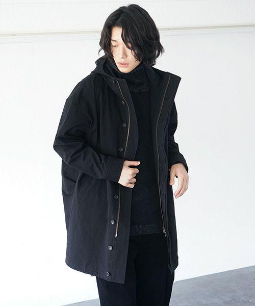 suzuki takayuki スズキタカユキ anorak[A212-11/black]
