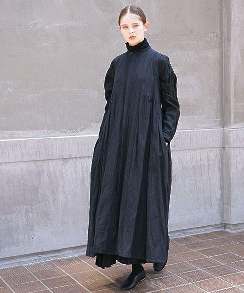 suzuki takayuki スズキタカユキ sleeveless dress[A211-10/black]