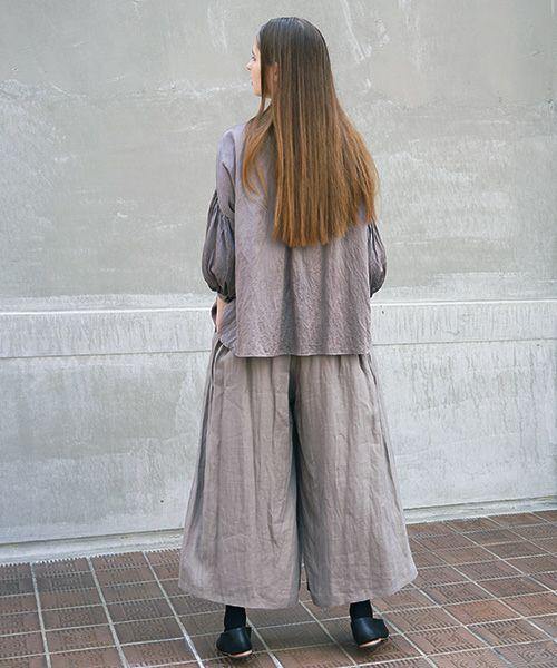 suzuki takayuki スズキタカユキ wrapped pantsⅠ[A212-17/grey]
