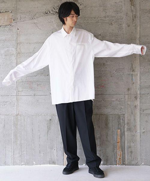 VU ヴウ classic shirt vu-s02-s01[WHITE]