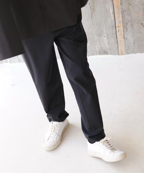 VU ヴウ slim pants vu-s02-p06[BLACK]