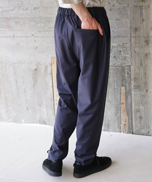 VU ヴウ slim pants vu-s02-p06[NAVY]