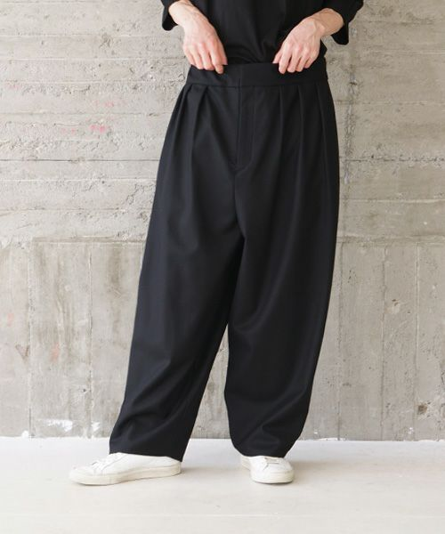 VU ヴウ wide pants vu-s02-p07[BLACK]