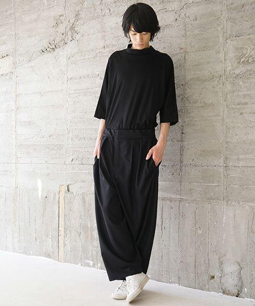 VU ヴウ wide pants vu-s02-p07[BLACK]