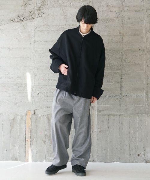 VU ヴウ stand collar bluson vu-s20-b11[BLACK]