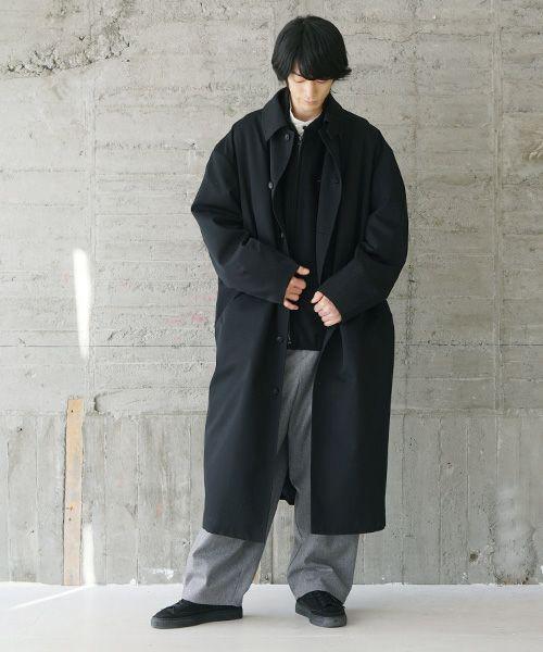VU ヴウ wide coat vu-s20-c12[BLACK]