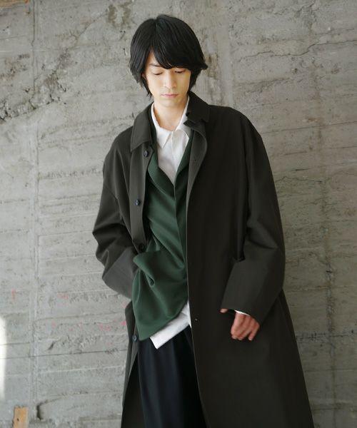 VU ヴウ wide coat vu-s20-c12[KHAKI]