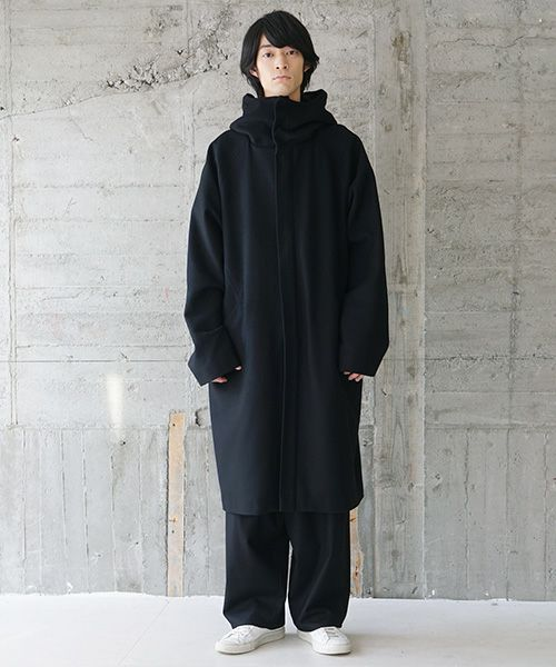 VU ヴウ hood coat vu-s20-c13[BLACK]