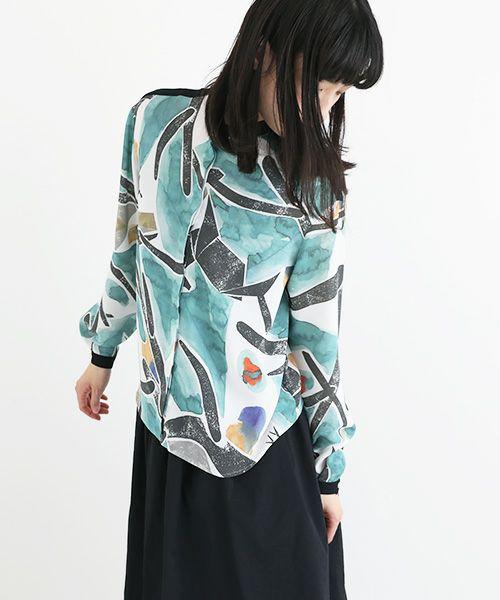 ohta オオタ shika blouse [st-45S]