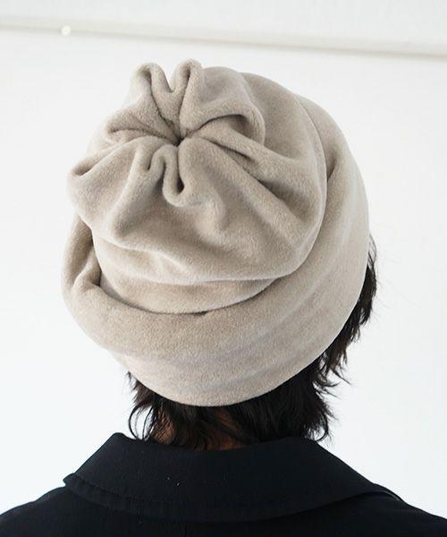 Edwina Hoerl エドウィナホールcap[24A/EH41A-01/l.beige]