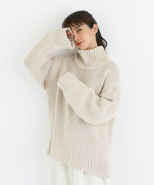 Edwina Hoerl  エドウィナホール knit[28A/EH41KN-01/off white]
