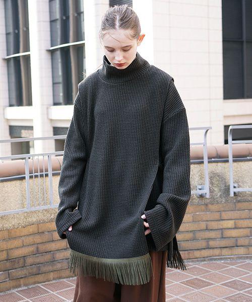 Edwina Hoerl  エドウィナホール vest[25C/EH41A-03/d.green]