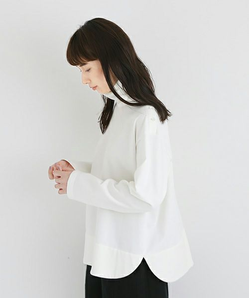 Mochi モチ side button top [white]