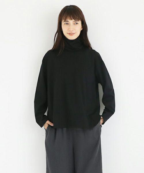 Mochi モチ side button top [black]