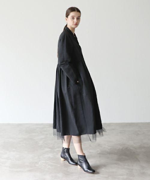 Mochi モチ coat dress[mochi-d-01 /black]