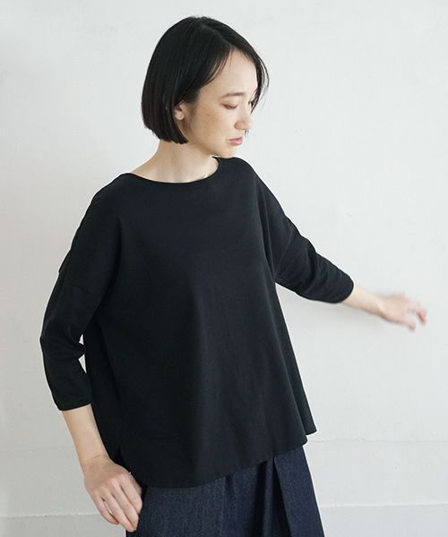 Mochi モチ suvin long sleeved t-shirt [white]